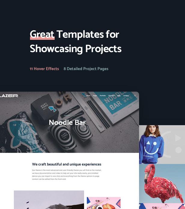 Lazer WordPress Theme